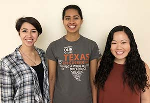 Madison Suarez, Nithya Ketavarapu and Christine Lin