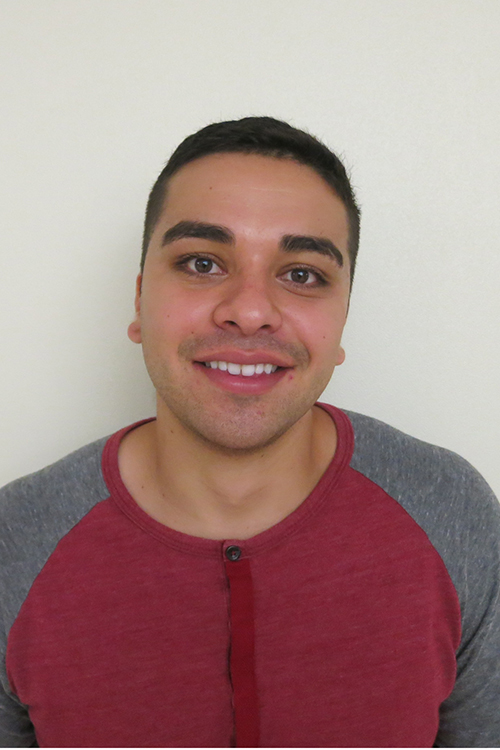 headshot photo of Lucas Gallegos